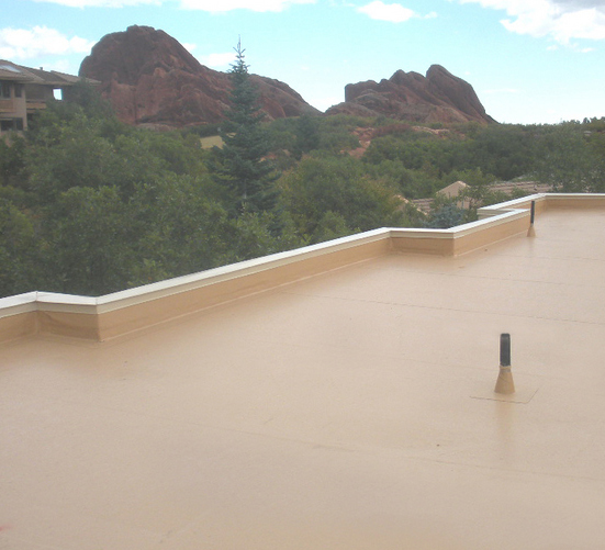 PVC Roofing - Thermoplastic Roof Systems - Calebs Roofing - Flat roof contractor Denver Colorado