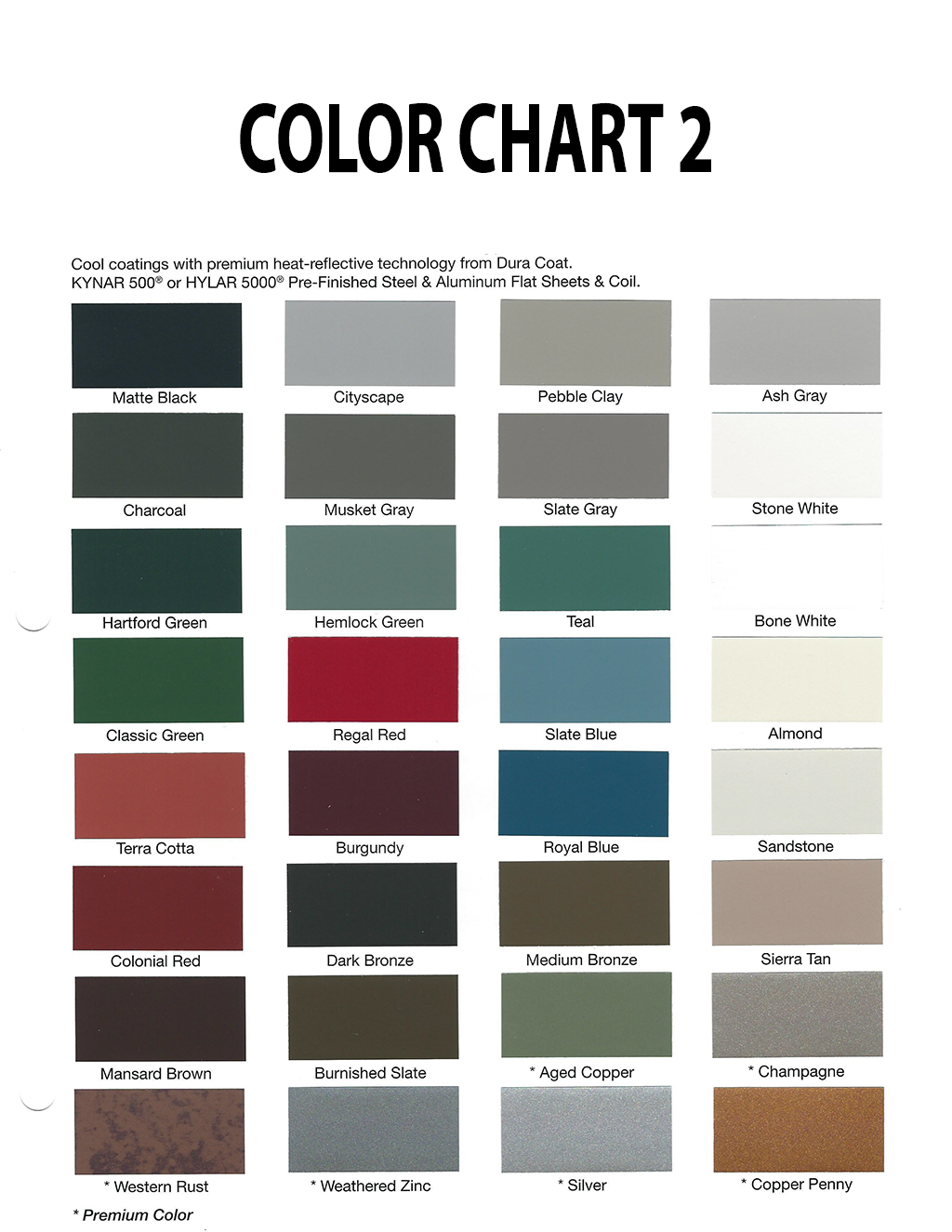 Calebs roofing metal roofing colors commercial roofing metal roofing colors metal colors commercial roofing contractor denver nvjuhfo Choice Image