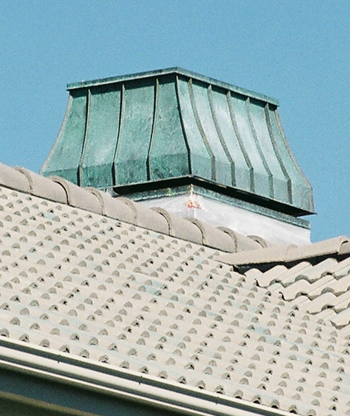 Chimney Cap - Sheet metal shop - commercial roofing contractor denver colorado